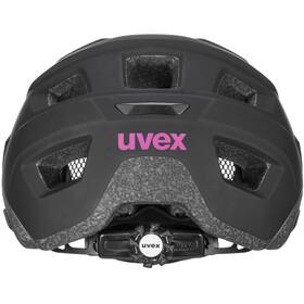UVEX Access Casco, nero/rosa